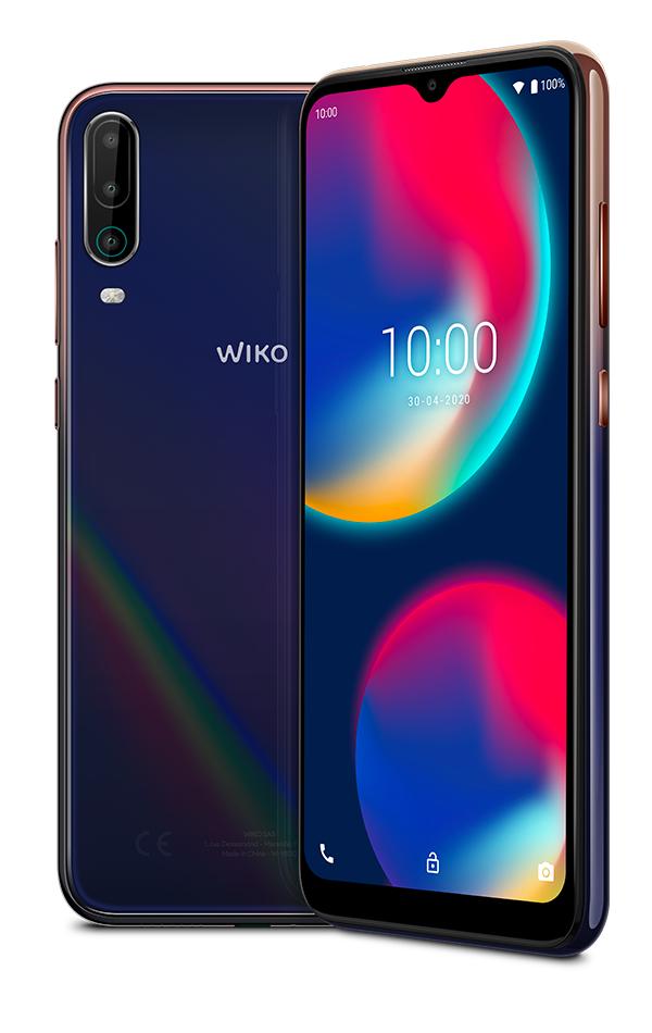 """Smartphone 6.52"""" Wiko View 4 - 3 Go de Ram, 64 Go de Rom (Via ODR de 20€)"""