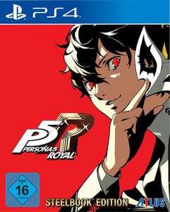Persona 5 Royal Steelbook Launch Edition sur PS4