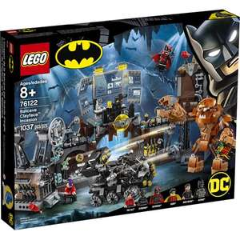 LEGO DC Super Heroes 76122 - L'invasion de la Batcave par Gueule d'argile (via 18,60€ sur la carte de fidélité)