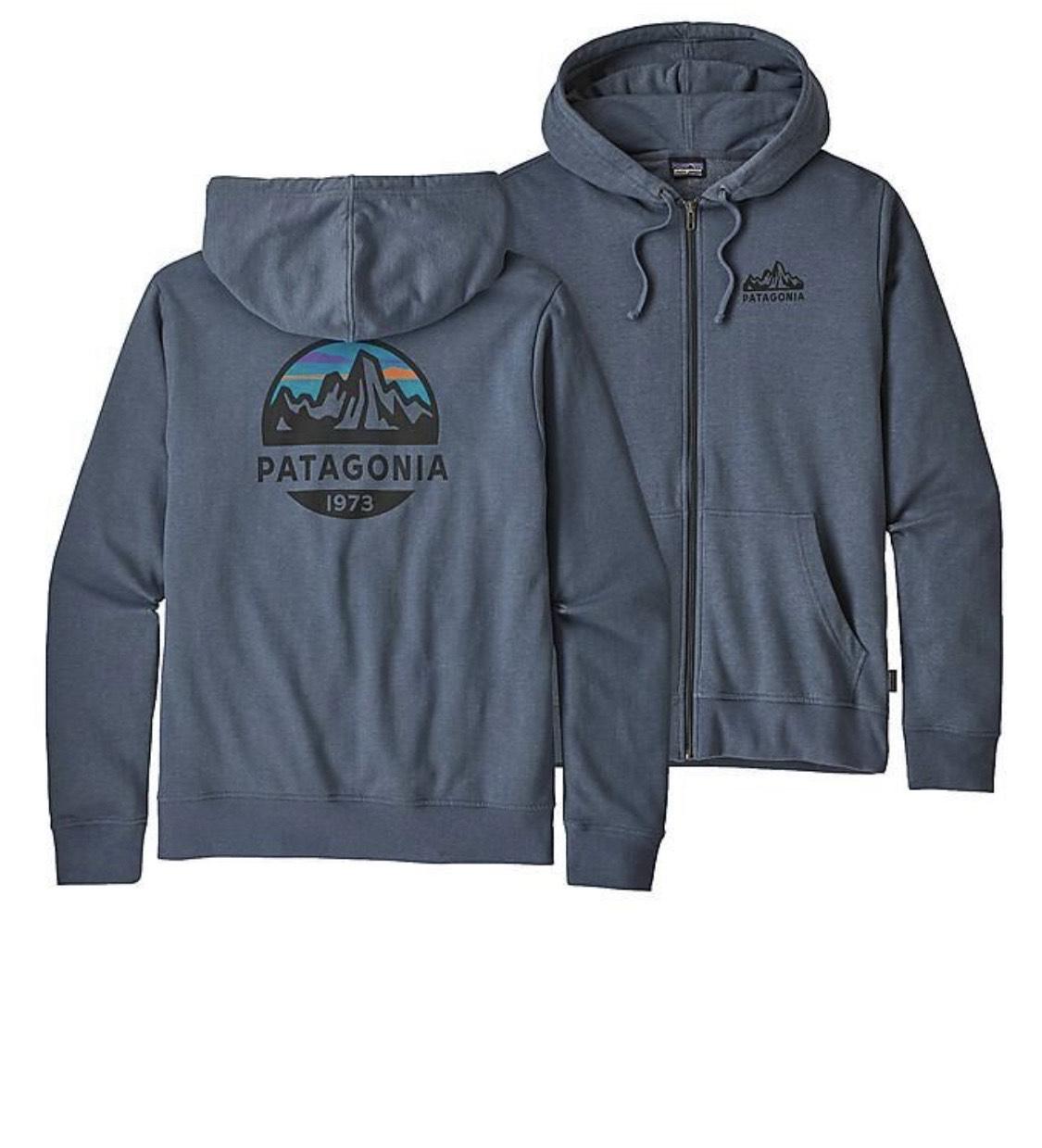 Veste à capuche homme Patagonia Fitz Roy Scope Lightweight M - Bleue (Taille XL)