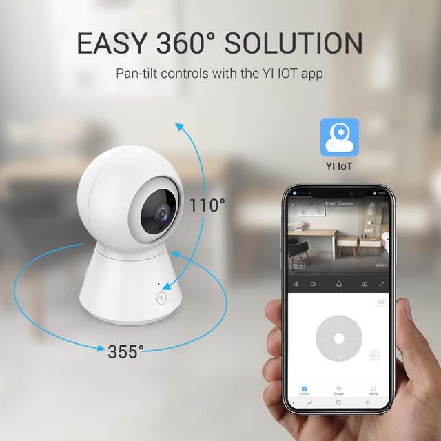 Caméra de Surveillance IP YI Dôme - Full HD