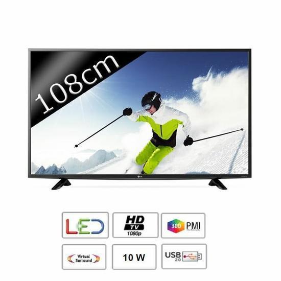 "TV 43"" LG 43LF5100 - Full HD"