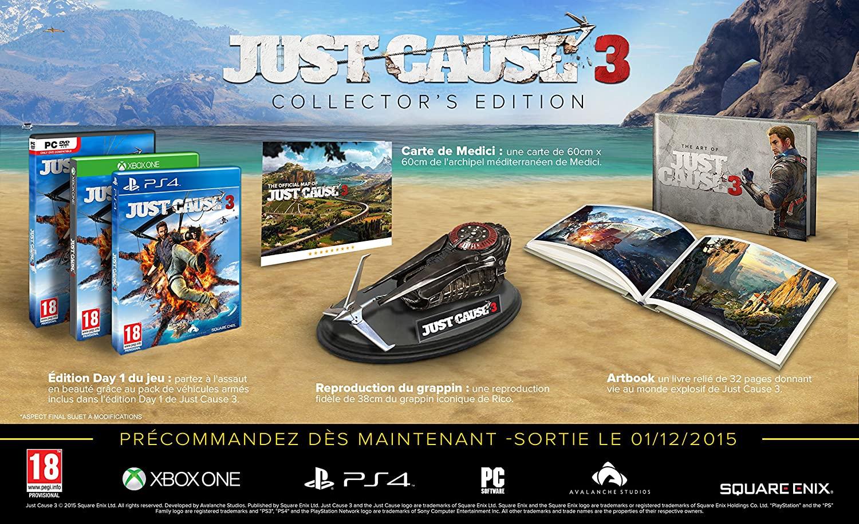 Just Cause 3 Edition Collector sur PS4 (Vendeur Tiers)