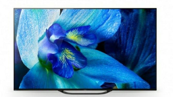 "TV 55"" Sony KD-55AG8 - OLED, 4K UHD, HDR 10/HLG, Dolby Vision, Android TV, Garantie 5 Ans"