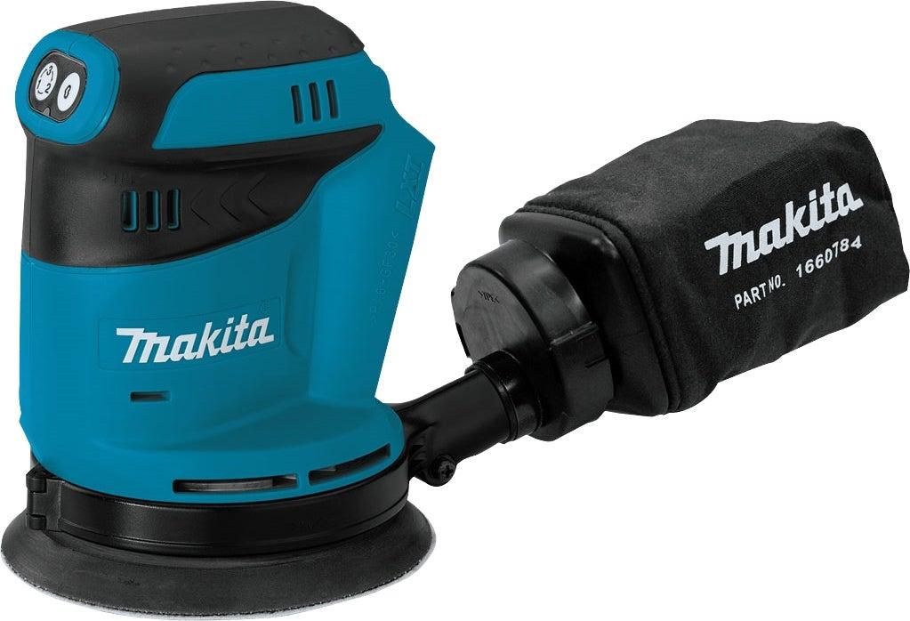 Ponceuse Excentrique Makita DBO180Z 18V - 125 mm (Sans batterie ni chargeur)