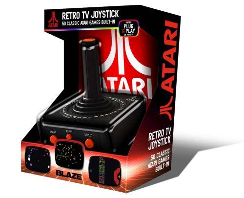 Joystick Atari TV Plug & Play AV + Atari 50 Games Pack