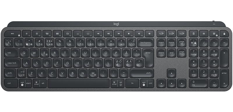 Clavier sans fil Logitech MX Keys Advanced Wireless Graphite