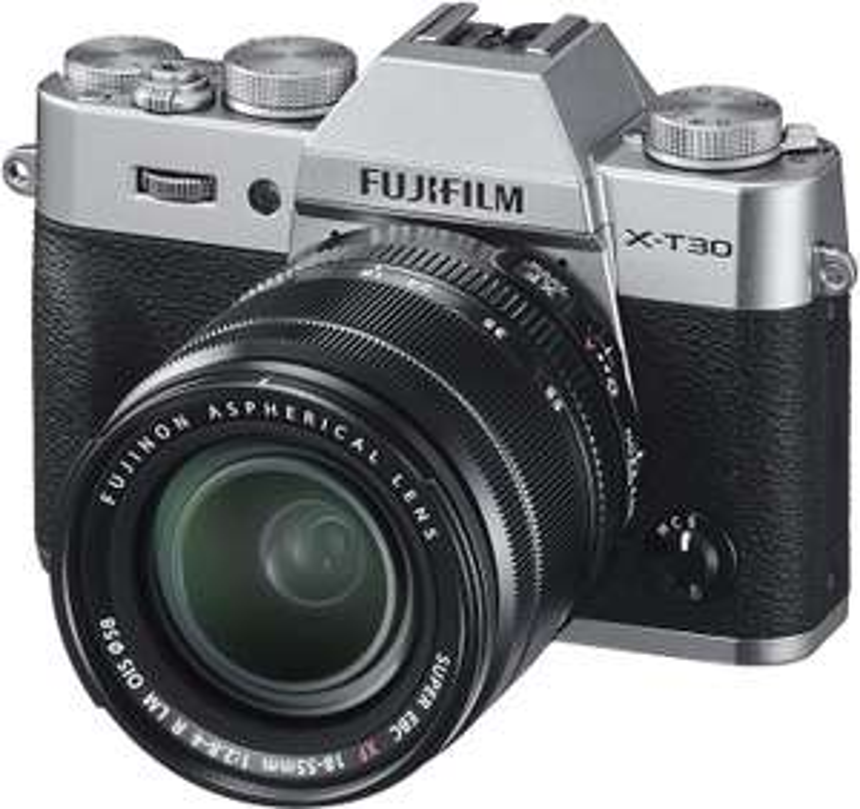 Appareil photo Fujifilm X-T30 Silver ou Noir + XF 18-55mm F2.8-4 RLM (Livraison comprise)