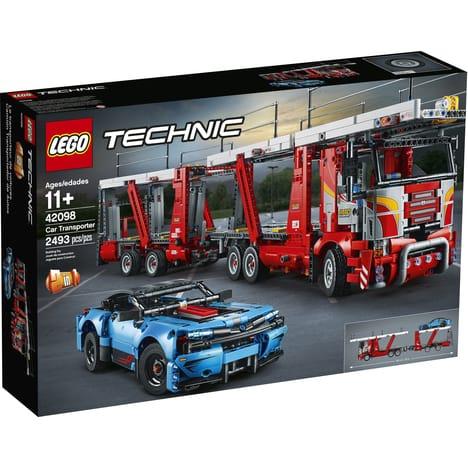 Jeu de construction Lego Technic - Le transporteur de voitures (42098)