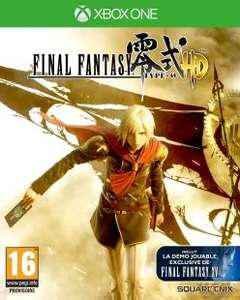 Final Fantasy Type-0 HD sur Xbox One + Lithographie Exclusive