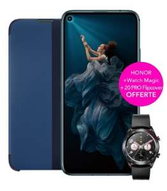 "Smartphone 6.26"" Honor 20 Pro - Full HD+, Kirin 980, RAM 8 Go, 256 Go + Montre connectée Honor MagicWatch + Cover (359.90€ pour les VIP)"