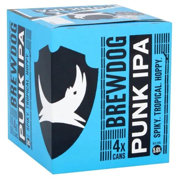 Pack de 4 Bières blonde Brewdog Punk Ipa ou Dead Pony