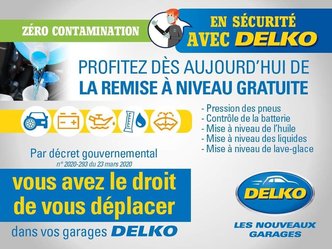 Remise à niveau de votre voiture Gratuite - Garages Delko