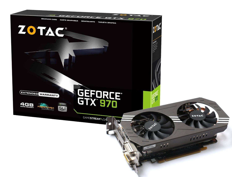 Carte graphique Zotac GeForce GTX 970 (4Go, DDR5, 256 Bit) + Rise of the Tomb Raider offert