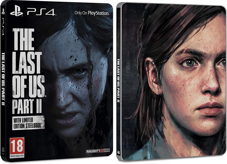 Jeu The Last Of Us Part II sur PS4 - Edition exclusive Steelbook