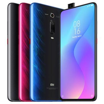 "Smartphone 6.39"" Xiaomi Mi 9T - Full HD+, Snapdragon 730, RAM 6 Go, 128 Go, 4G (B20/B28) - Bleu Glacier"