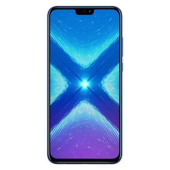 "Smartphone 6.5"" Honor 8X (Bleu) - Full HD+, Kirin 710, RAM 4 Go, ROM 64 Go (vendeur tiers)"