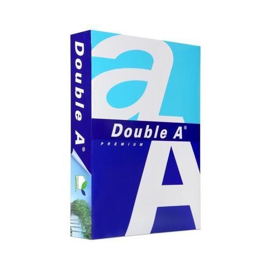 Papier ramette Double A - 500 feuilles, Format A4, 80 g