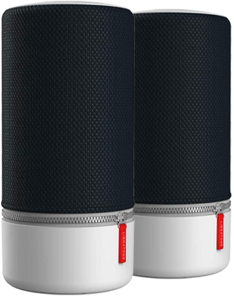 Lot de 2 enceintes portables sans fil intelligente ZIPP 2 Libratone multi-pièces, - Stormy Black (Ou 256.80€ reconditionné comme neuf)