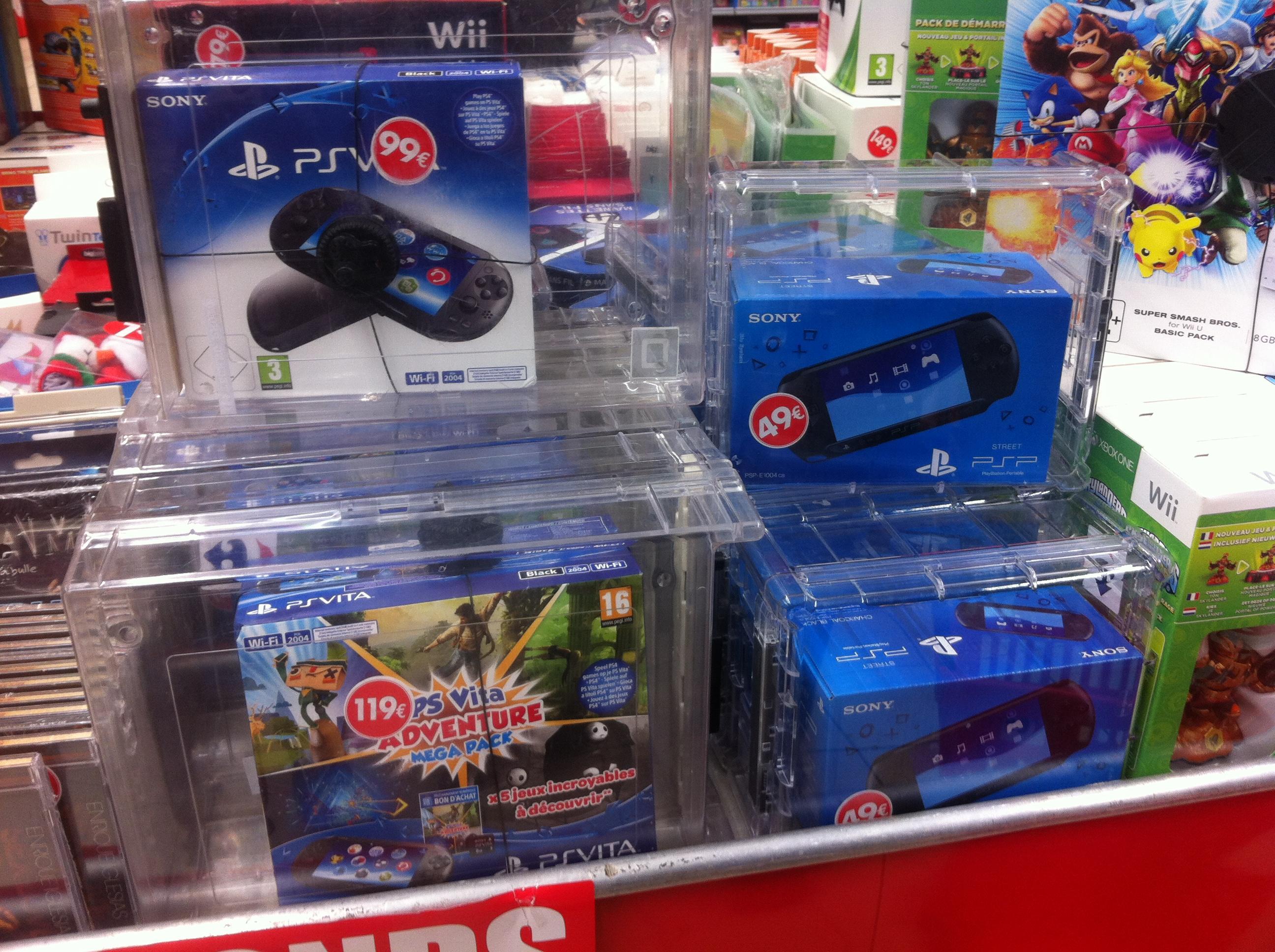 Console PS Vita à 99€ et PSP Street