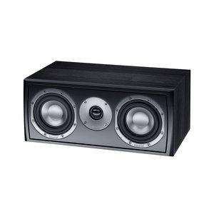 Enceinte centrale 80/140W Magnat Vector Center 211 Noir - 2 voies, Bass Reflex