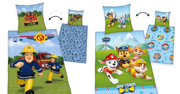 Parure de lit enfant 100% coton - 140x200cm