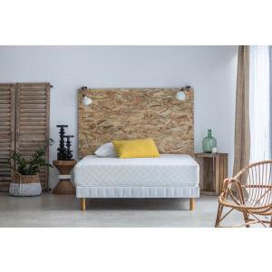 Matelas Hypnia Confort Plus - 140 x 200cm + 2 Oreillers Ergonomiques