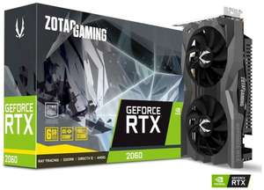 Carte graphique Zotac GeForce RTX 2060 Gaming - 6 Go (computeruniverse.net)