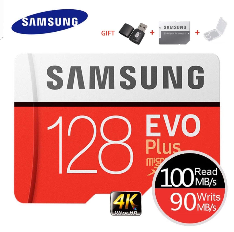 Carte micro SDXC Samsung Evo Plus - 128 Go