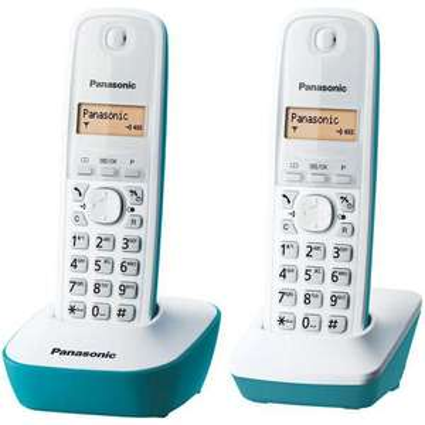 Téléphone Fixe sans-fil Panasonic KXTG1612 Duo - 2 combinés