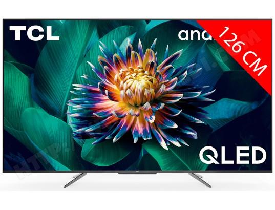 "TV 50"" TCL 50C711 - 4K, QLED HDR 10+, Dolby Vision & Atmos, Android TV (Via ODR de 80€)"
