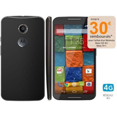 """Smartphone 5.2"""" Motorola - Moto X 2ème Génération Noir 4G (30€ ODR)"""