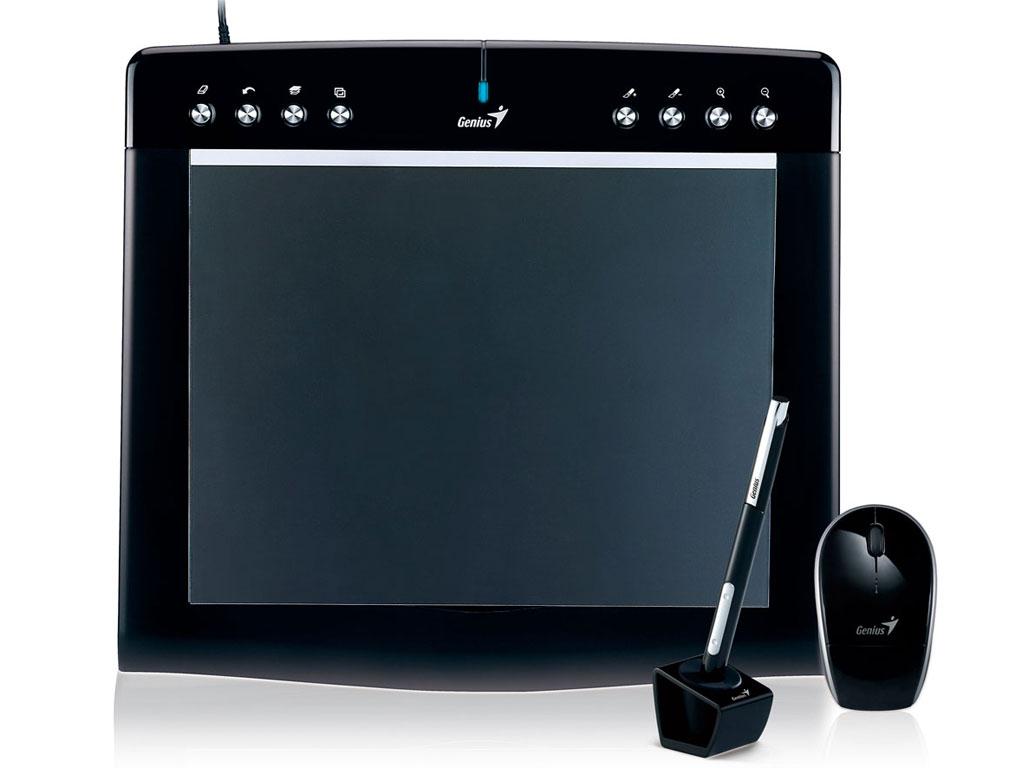 Tablette graphique genius Pensketch M912 avec stylet et souris sans fil