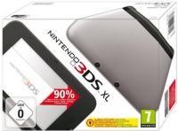console Nintendo 3DS XL - argent et noire