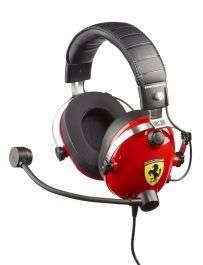 Casque Gaming T.Racing Scuderia Ferrari Edition