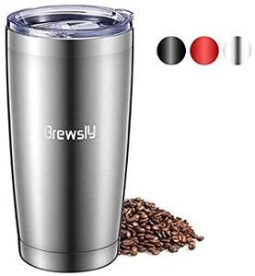 Mug isotherme Brewsly - 600ml, Inox - Différentes coloris (Vendeur tiers)