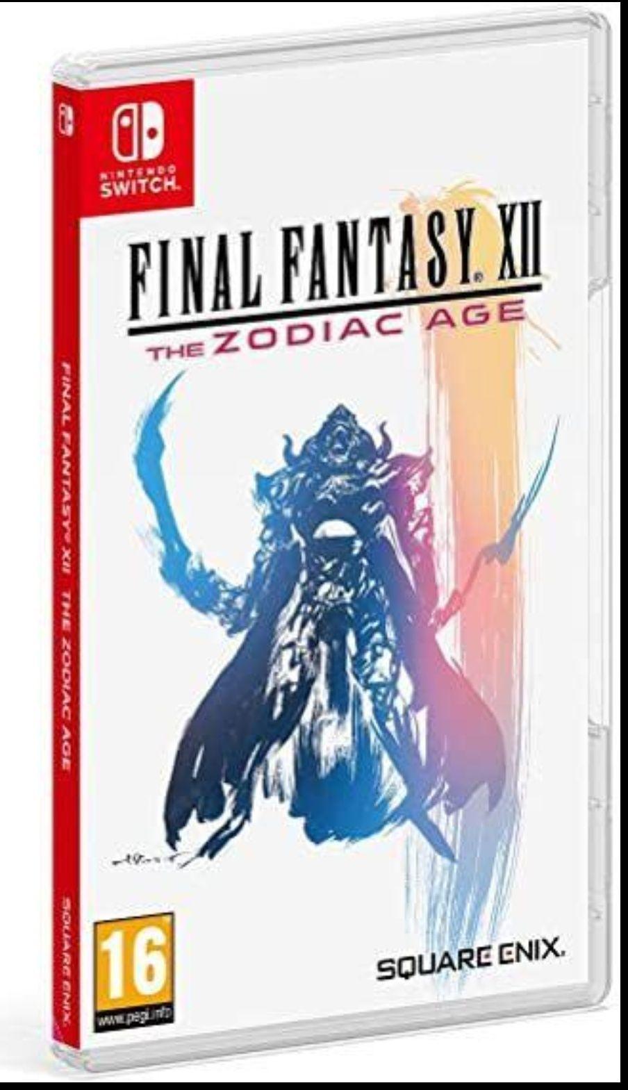 Final Fantasy XII : The Zodiac Age Nintendo Switch