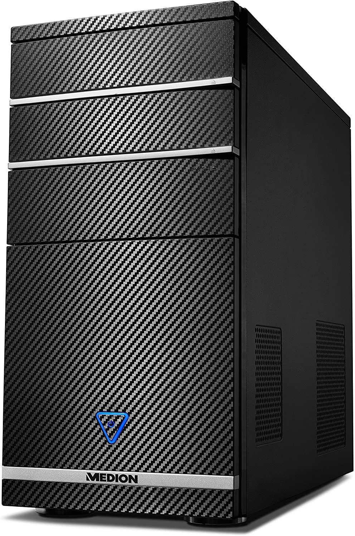 PC de Bureau Medion Akoya PCC722 - i3-8100, 8 Go RAM, HDD 1To, Sans OS