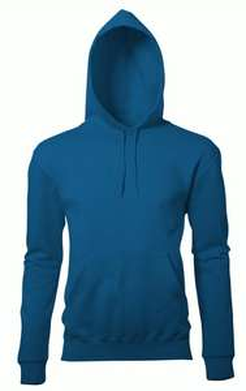 Sweat à capuche pour homme (bleu ou gris) + personnalisation