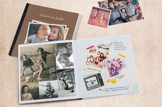 Livre de 24 photos offerte - Style Carré (frais de ports inclus)