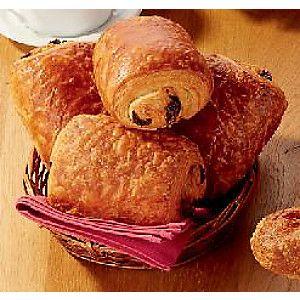 Lot de 4 pains au chocolat au beurre AOP