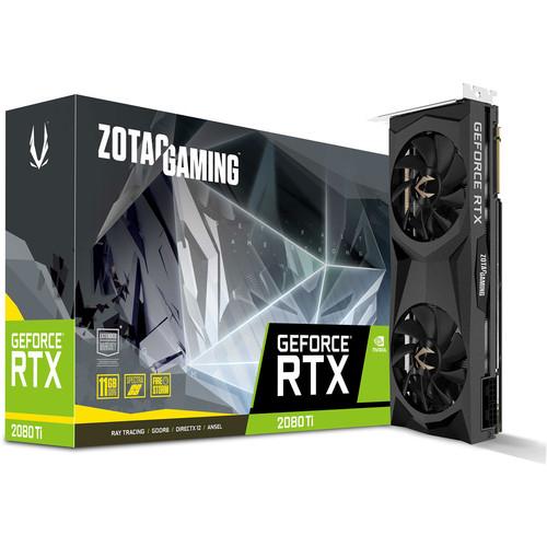 Carte graphique Zotac GeForce RTX 2080 Ti Twin Fan - 11 Go