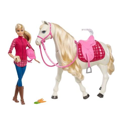 Jouet Poupée Barbie Dreamhorse et son cheval