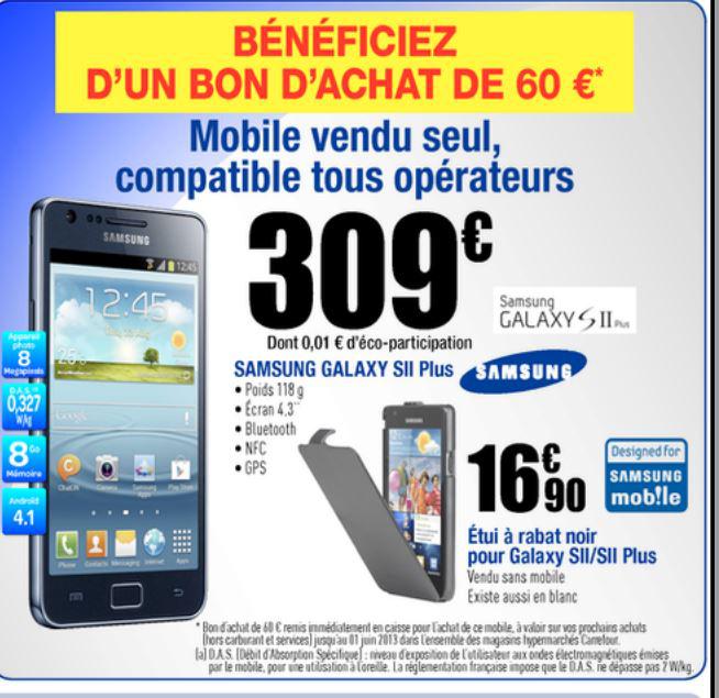 Smartphone Samsung Galaxy S2 Plus