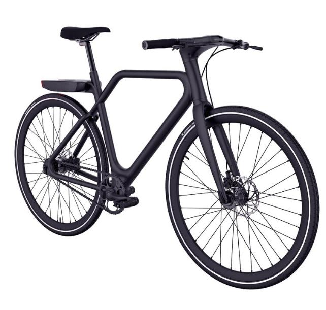 [Précommande - Adhérents] Vélo à assistance électrique Angell - 250 W, Noir mat