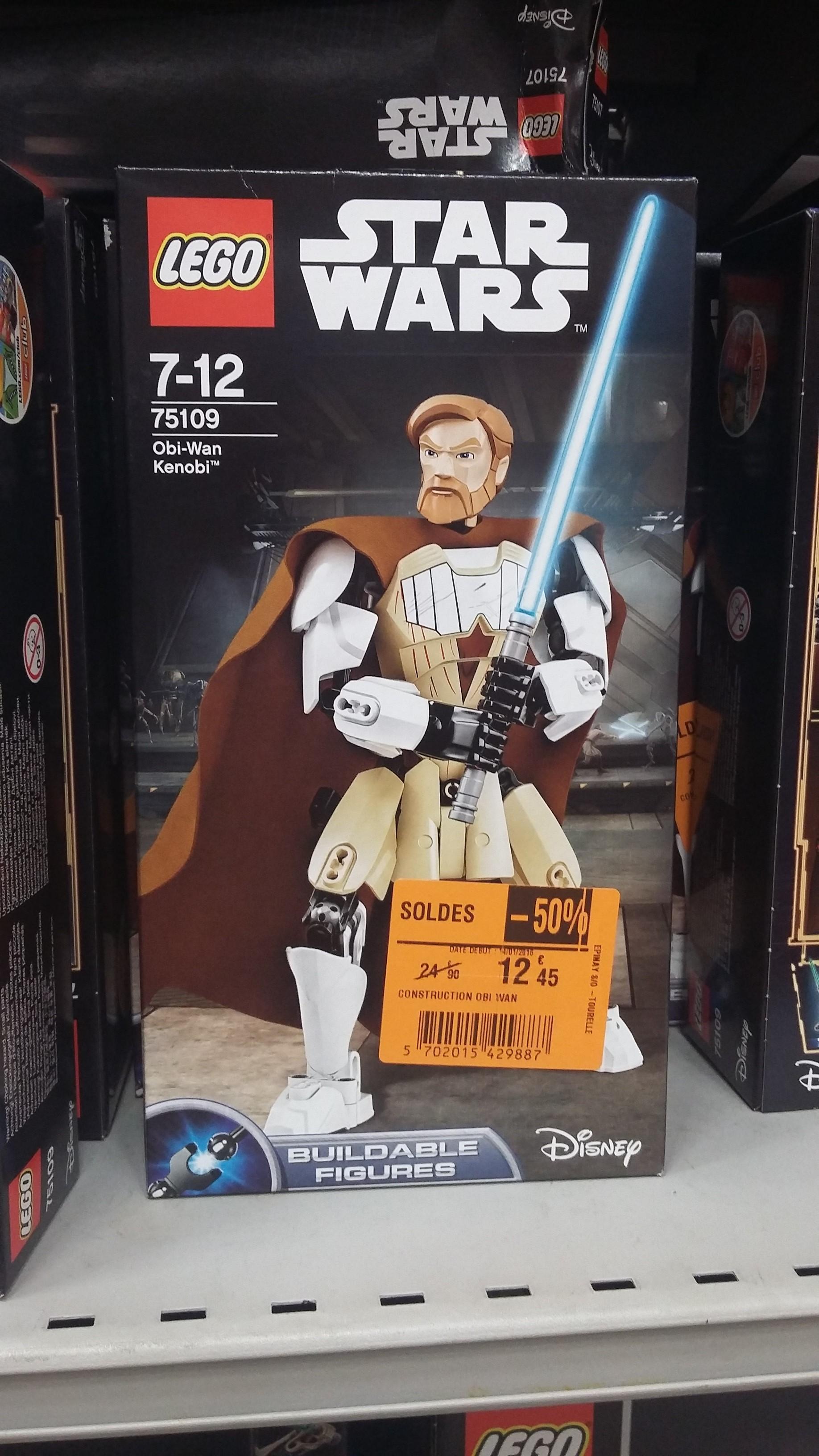 Selection de lego Star Wars en promo - Ex : Lego Star wars Obi-wan 75019