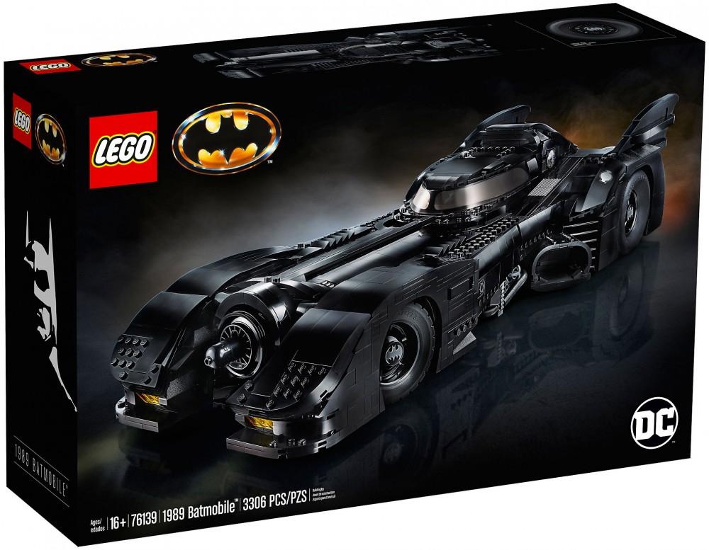 Lego DC Super Heroes Batman 76139 - 1989 Batmobile