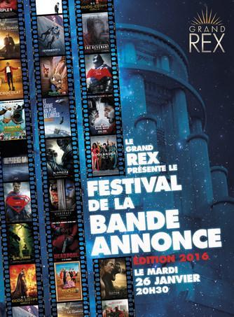 Place gratuite pour le Festival de la bande annonce au grand Rex le mardi 26 janvier 2016