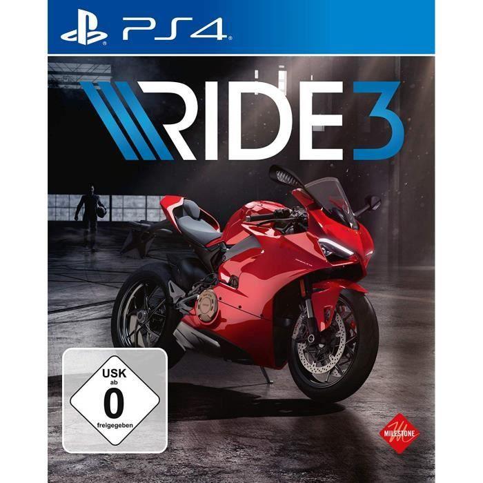 Ride 3 sur PS4 (Vendeur Tiers)