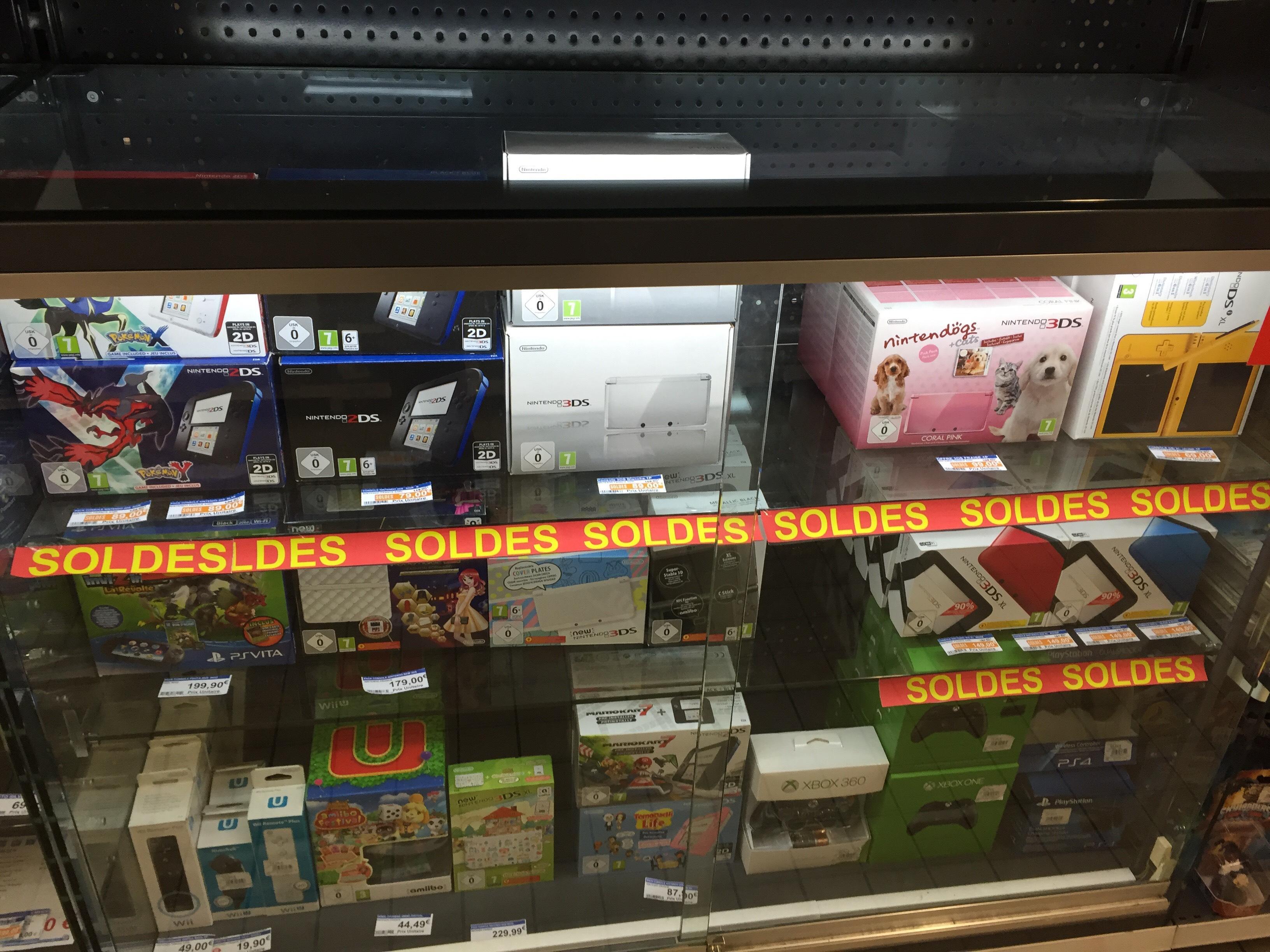 Soldes Console Nintendo - Ex : Nintendo 2DS